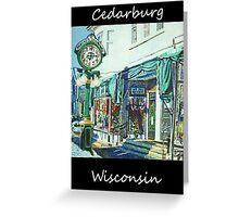 Cedarburg Art Greeting Card
