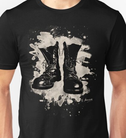 Old Boots bleached look Unisex T-Shirt
