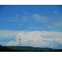 Cumulonimbus clouds Photographic Print