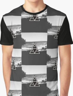 Huf beach Graphic T-Shirt