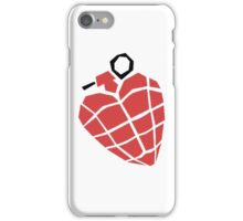 Green Day Heart Grenade iPhone Case/Skin