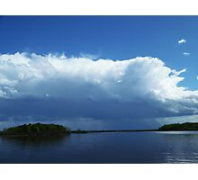 Severe storms moving into northwest Wisconsin Photographic Print