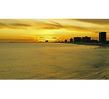 Atlantic City Sunset Photographic Print