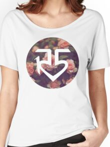 Floral R5 Logo Women's Relaxed Fit T-Shirt