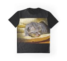 Newborn Kitten Graphic T-Shirt