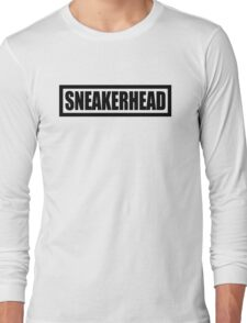 Sneakerhead Box - Black Long Sleeve T-Shirt
