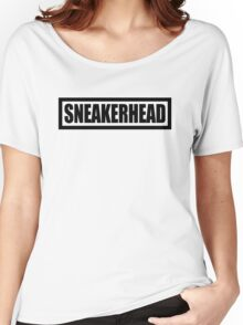 Sneakerhead Box - Black Women's Relaxed Fit T-Shirt