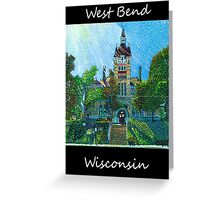 West Bend Art  Greeting Card