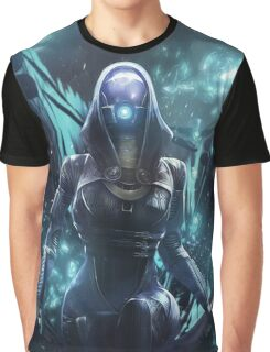 Mass Effect - Tali Zorah Vas Normandy Graphic T-Shirt