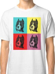 Dog Pop Art Classic T-Shirt