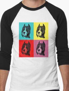 Dog Pop Art Men's Baseball ¾ T-Shirt
