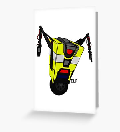 Clap Trap Greeting Card