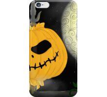 Pumpkins Scream in the Dead of Night iPhone Case/Skin