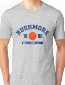 Rushmore Bombardment Society - Cult Classic Movie - Multicolor Unisex T-Shirt