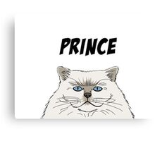 Prince Cartoon Canvas Print