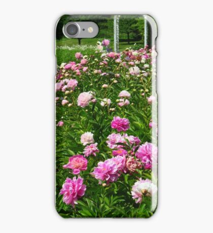 A Patch of Peonies  iPhone Case/Skin