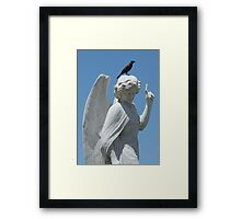 Cemetery Angel Framed Print