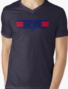 Top Dad  Mens V-Neck T-Shirt