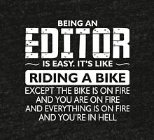 Being an EDITOR T-shirt Tri-blend T-Shirt