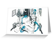 Monsters Under the Bed Greeting Card