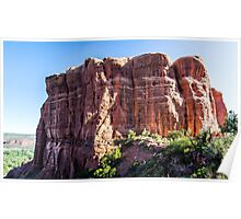 Cathedral Rock from the Saddle Area Poster