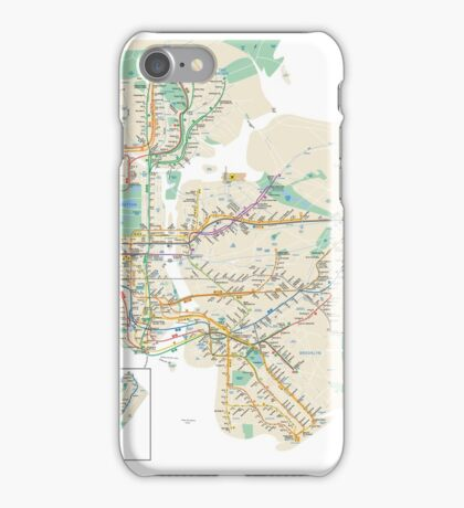 new york subway iPhone Case/Skin