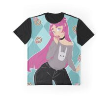 Donut Lover Mika Graphic T-Shirt