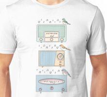 Radio Birds Unisex T-Shirt