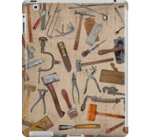 Vintage Tools. Good Old Days. Collage. iPad Case/Skin