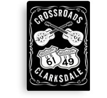 Crossroads 61/49 Canvas Print