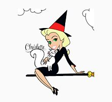 Charlottesw3b Bewitching Graphics Womens Fitted T-Shirt