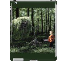I Saw Something in the Woods iPad Case/Skin