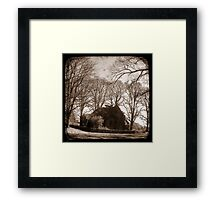 Gostwyck Chapel - New England, New South Wales, Australia Framed Print