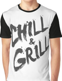 Chill & Grill Graphic T-Shirt