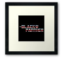Panther in Disguise Framed Print