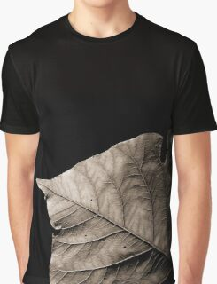 Sepia leaf Graphic T-Shirt