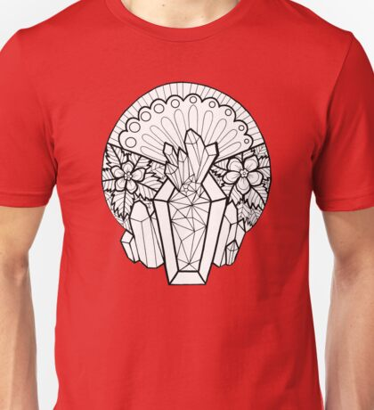 Crystal Coffin: Memento Mori Unisex T-Shirt