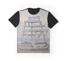 Lifeguard Chair At Ponquogue Beach | Hampton Bays, New York  Graphic T-Shirt