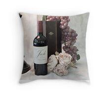 Wine Tasting Evening Throw Pillow