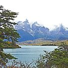 Lago Pehoe and Las Torres del Paine  by Graeme  Hyde