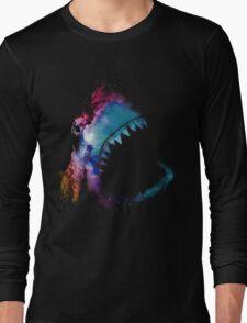Space Shark Long Sleeve T-Shirt