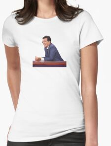 The Late Show with Stephen Colbert Womens Fitted T-Shirt