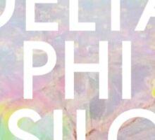 Opal Delta Phi Epsilon Sticker