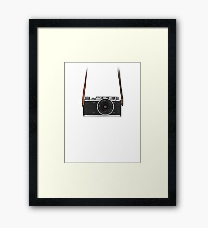 Vintage FED Leica with legendary RUSSAR MP-2 Framed Print