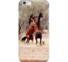 stallion fight iPhone Case/Skin