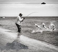 Barramundi Fishing Action by blackmarlinblog