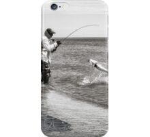 Barramundi Fishing Action iPhone Case/Skin