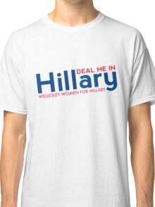 Hillary Blue and Red  Classic T-Shirt