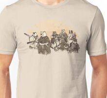Seven Samurai Cat Unisex T-Shirt