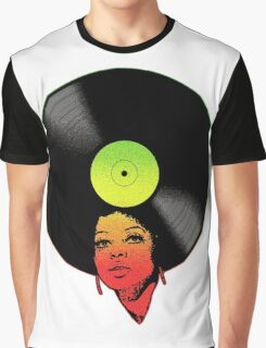 Afrovinyl (Rasta) Graphic T-Shirt